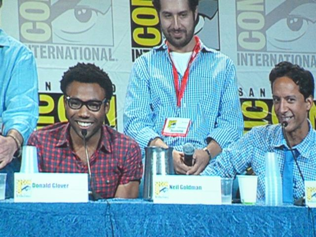 Comic Con COmmunity-Donald Glover Danny Pudi