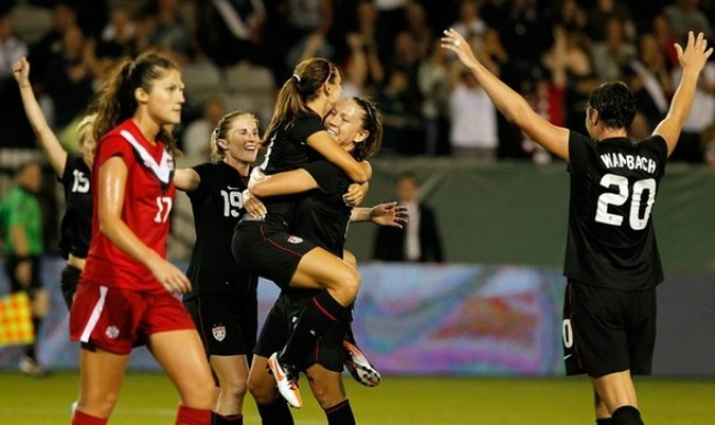 U.S. Women's National Team defeats Canada 3-0