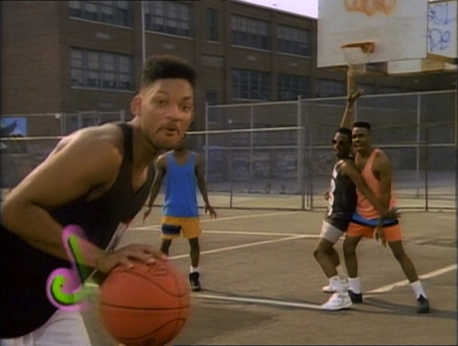 Fresh Prince Of Bel-Air basketball
