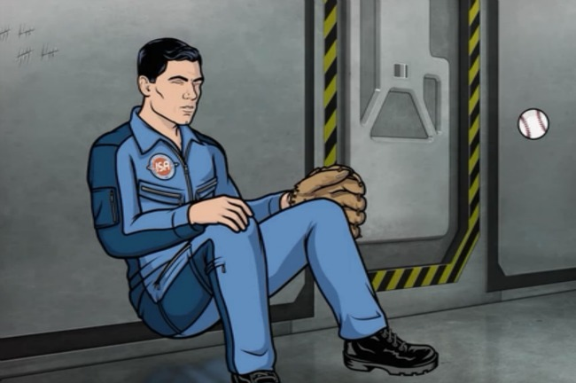 Archer space baseball