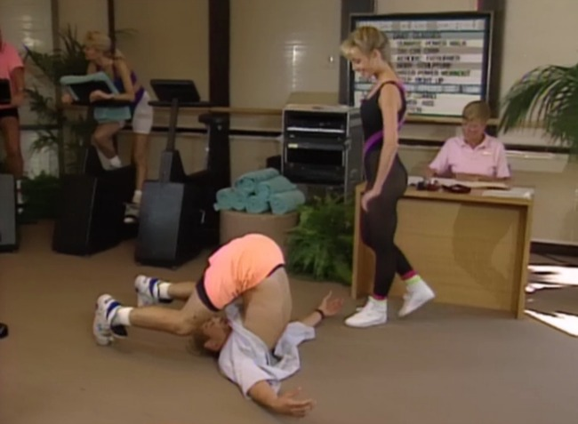 saved by the bell exercise