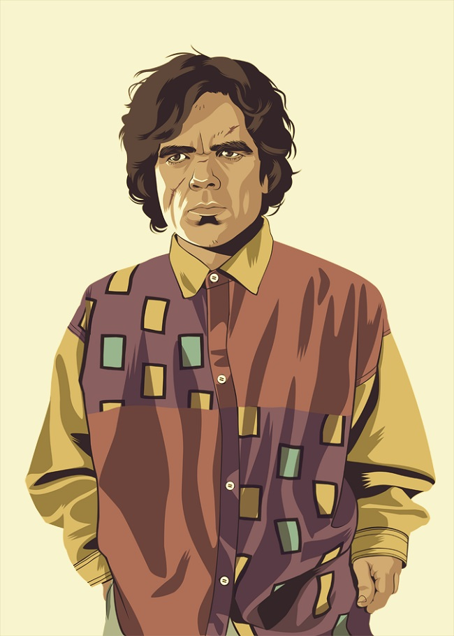'Game of Thrones' Characters Reimagined As '80s And '90s Stereotypes By Mike Wrobel