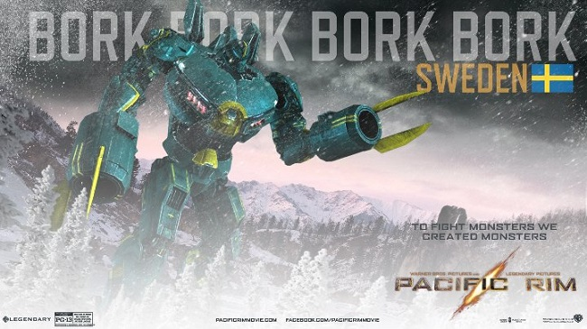 Improved Jaeger Names. The Giant Robots Of Pacific Rim Get More Improved Names
