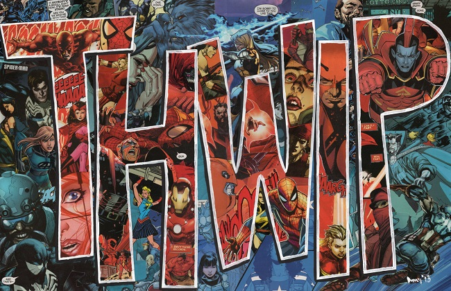 Cool Comic Book Onomatopoeia Collages By Amy Watkins of PowerUpCollage