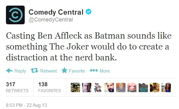 Batfleck Rises: The Funniest Internet Reactions To Ben Affleck As Batman in Man of Steel 2
