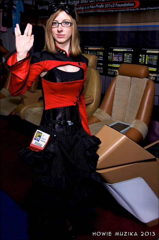 steampunk star trek cosplay
