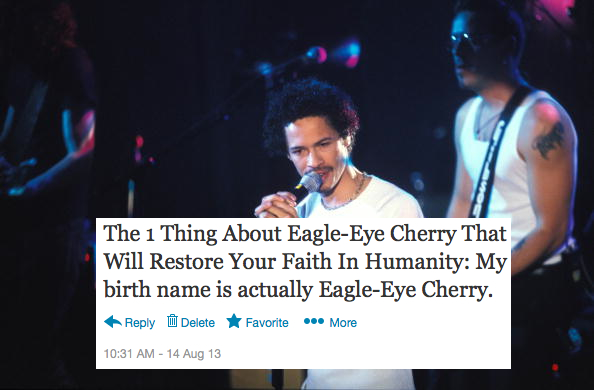 Photo of Eagle Eye CHERRY