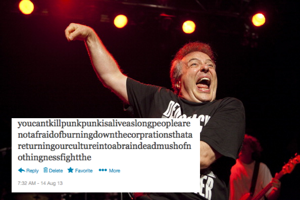 Jello Biafra And The Guantanamo School Of Medicine Perform In London