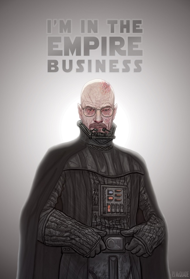 Darth Heisenberg by P.J. McQuade