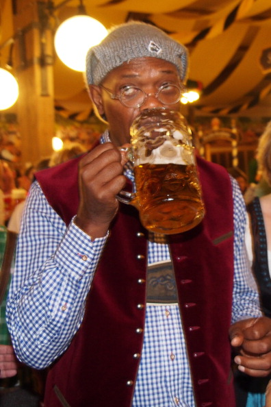 Celebrity Sighting At Oktoberfest 2013