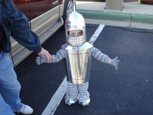 cosplay-futurama-bender-kid