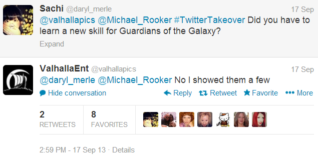 Michael Rooker, Merle from The Walking Dead and Yondu from Guardians of the Galaxy, answers fan questions on Twitter