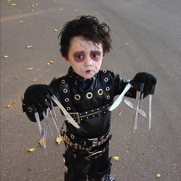 cosplay-Edward-Scissorhands-kid-costume
