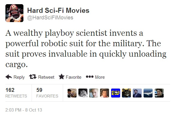 Hard Sci-Fi Movies iron-man